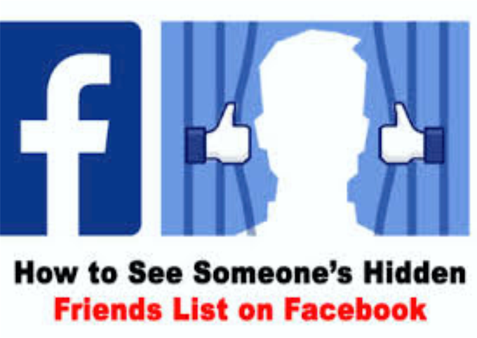 How To See Someone's Hidden Friends List on Facebook