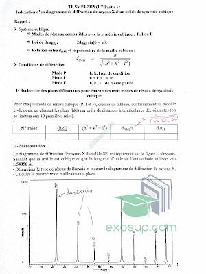 tp smp4 cristallographie et cristallochimie I