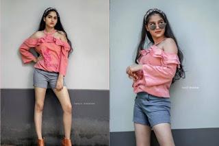 Malayalam Actress Anaswara Raja