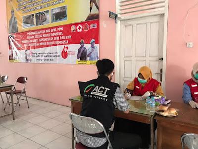 Relawan MRI-ACT Lampung Dukung Kegiatan Donor Darah LVRI dan PPM Provinsi Lampung