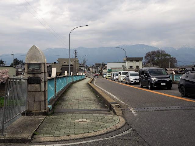 松本 奈良井川 新橋