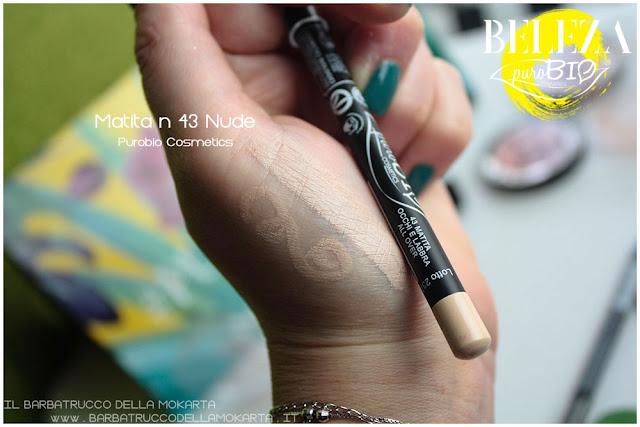 beleza purobio eyepencil matite 43 nudeswatches