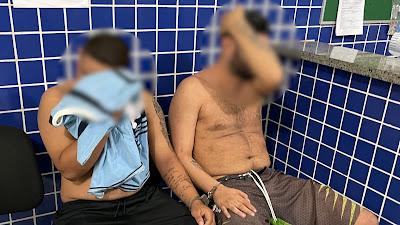 Delivery de Drogas: Dupla é presa suspeita de tráfico de drogas em Parnaíba