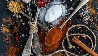 Ilustrasi bumbu dapur