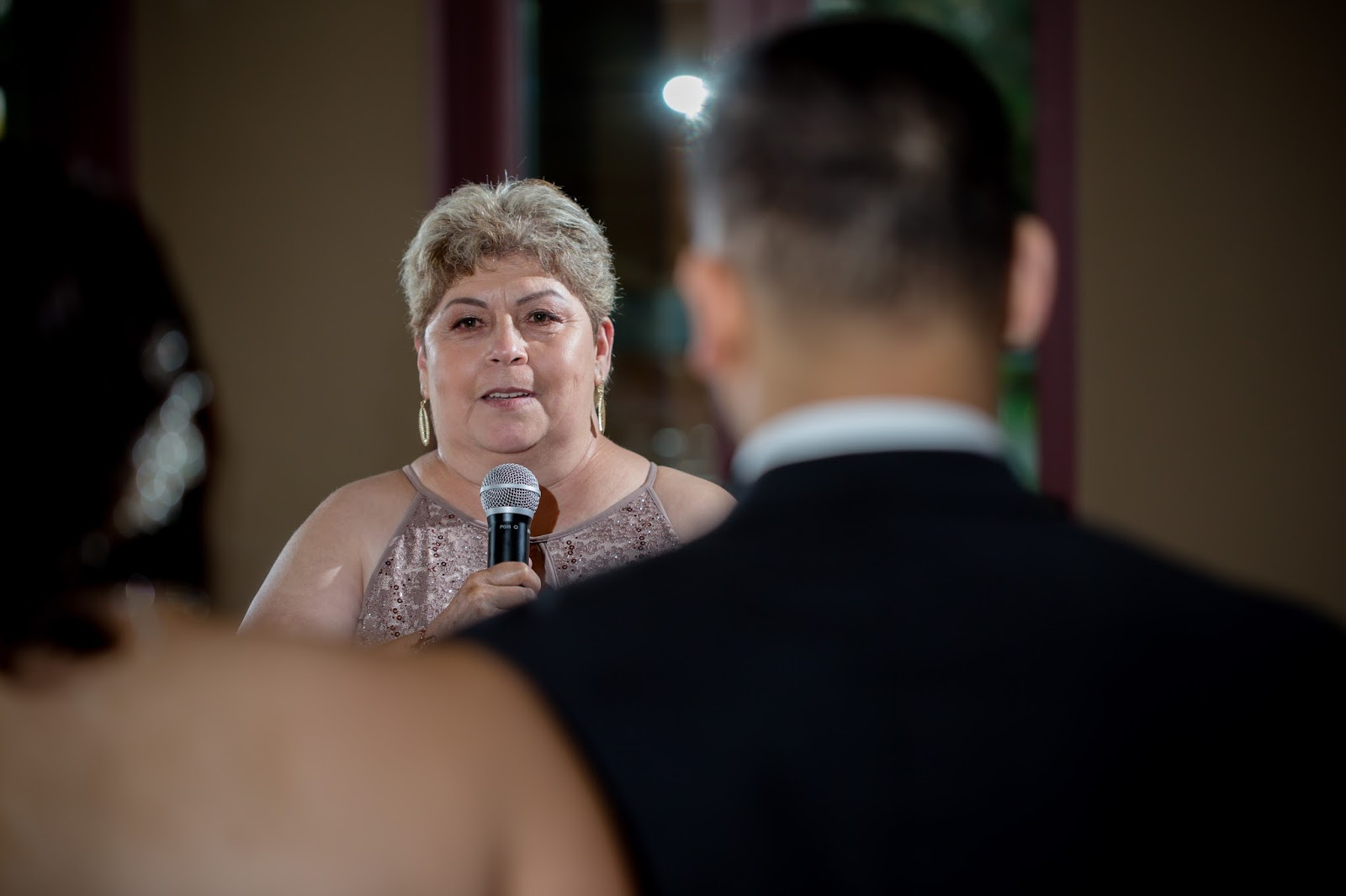 Mother of Groom gives her Toast