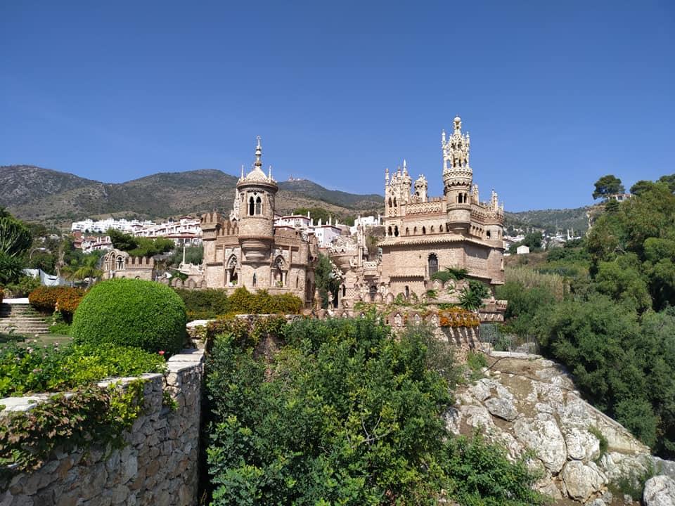 Castillo Monumento Colomares in Benalmádena, Andalucia.