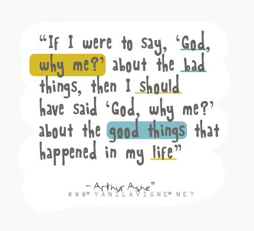 Why Bad Things Happen Quotes: Peachy Scene: When To Ask Why Me?