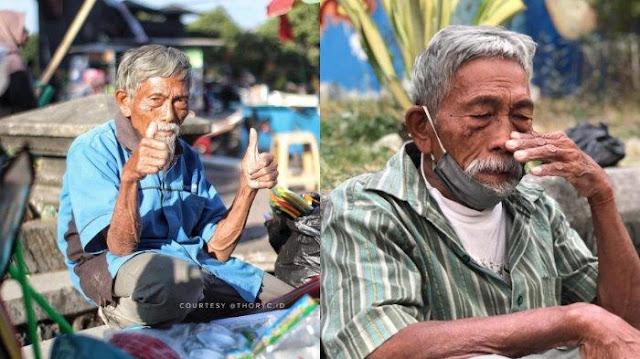 Dulu Mati-matian Rebut Kemerdekaan, Kini Pak Min Banting Tulang Jualan Mainan