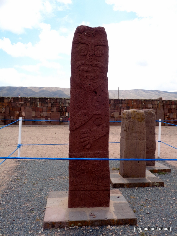 {Erin Out and About} Tiwanaku, Bolivia