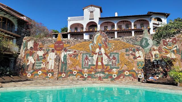 mural of Emperor Cuauhtémoc, Taxco