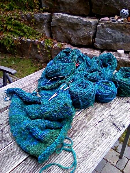 clarice39 giftgruen.handcrafted: 74 Maschen