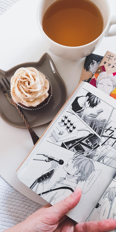 Schokoladen Cupcakes mit Zimtfrosting