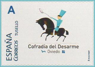 sello, personalizado, cofradía, Desarme, Oviedo