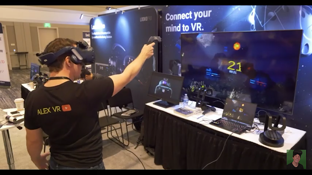Science and technology A demo of present VR technology