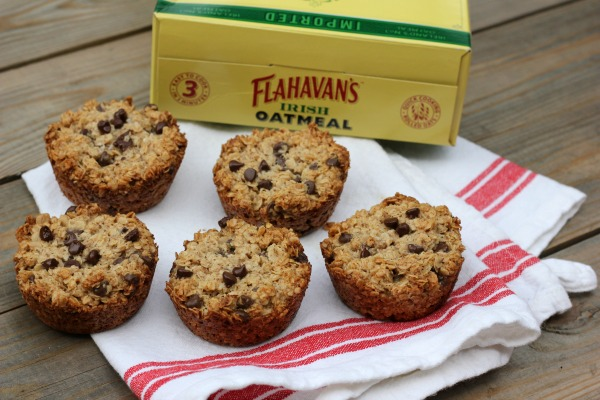 Healthy Oatmeal Chocolate Chip Muffins Cookies