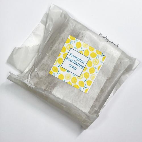 my indie polish sourpuss exfoliating soap