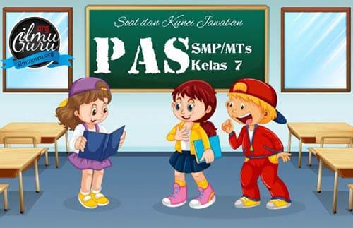 Soal PAS Prakarya Kelas 7