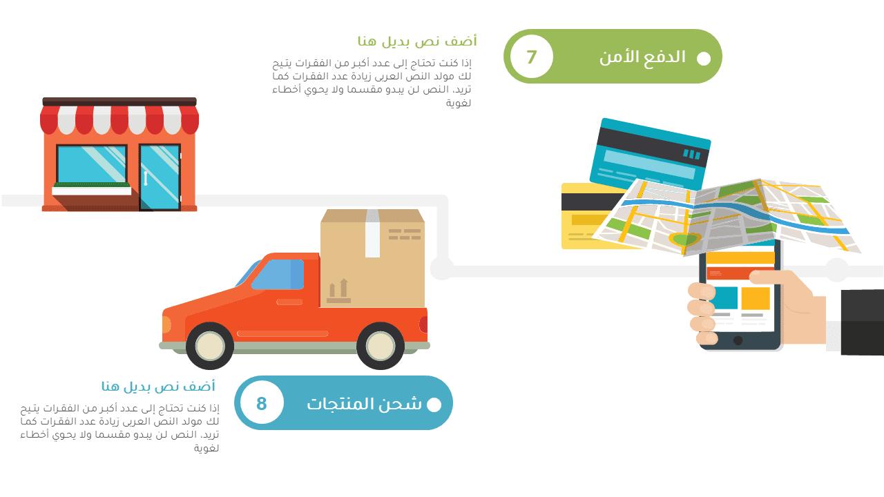 تحميل انفوجرافيك عروض بوربوينت عربي