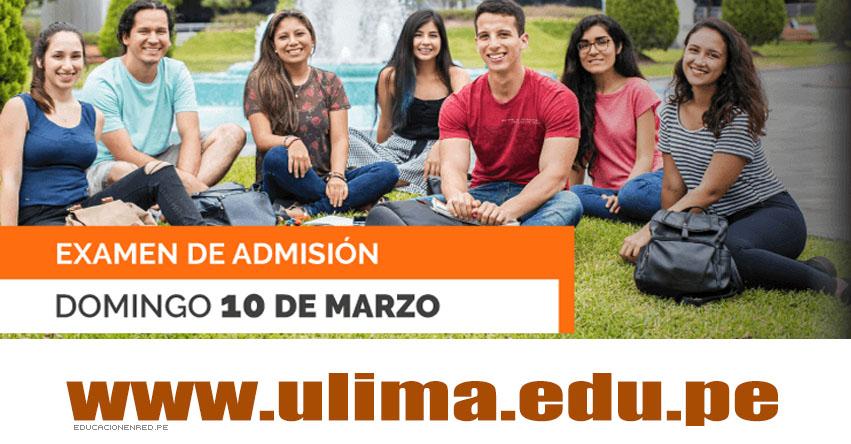 Resultados ULIMA 2019-1 (10 Marzo) Lista de Ingresantes - Examen Admisión - Universidad de Lima - www.ulima.edu.pe