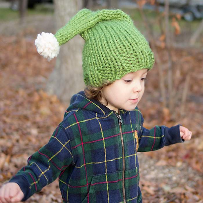 Elf Hat Free Knitting Pattern