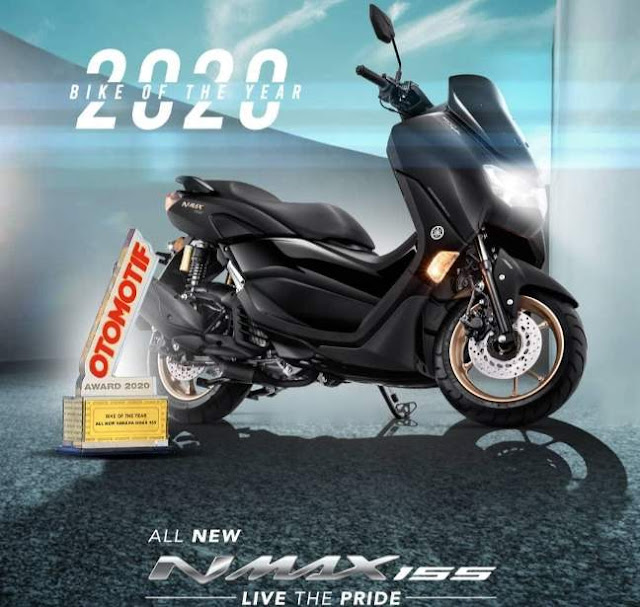 New Nmax Raih prestasi Bike Of The Year Otomotif Award 2020