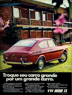 propaganda VW 1600 TL - 1971