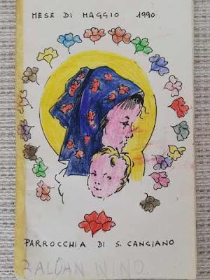 Il libro/diario del ''fioretto'' di maggio della Parrocchia di San Canciano a Venezia