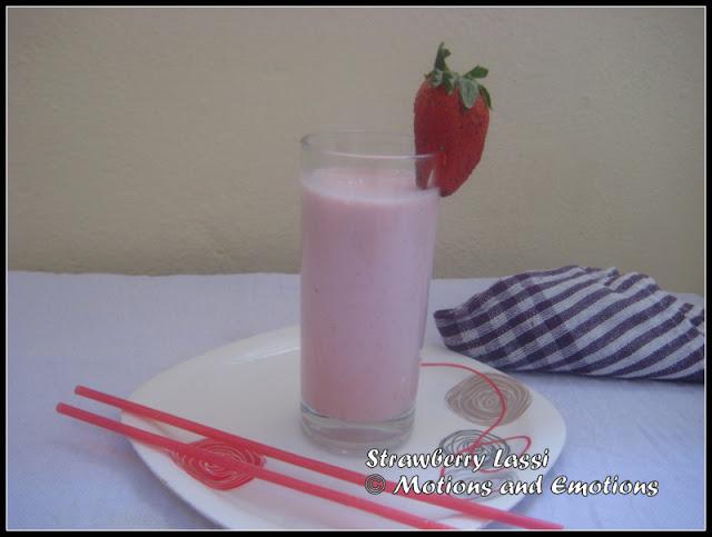 Fruity flavour lassi