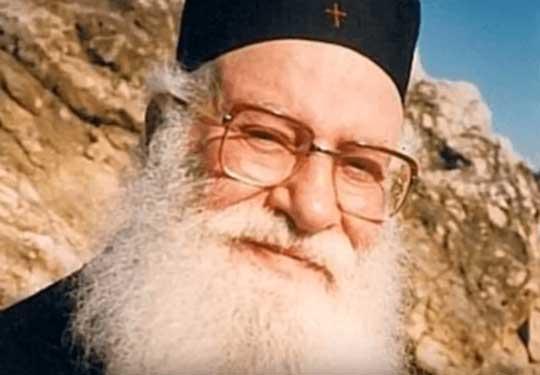 Αρχιμανδρίτης πατέρας Αθανάσιος Μυτιληναίος