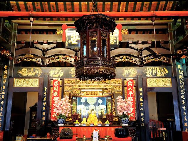 Chinese Temple on Harmony Street, Melaka, Malaysia