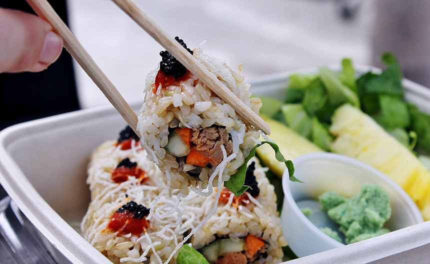 #SoCalVegFest 2016 Vegan Sushi