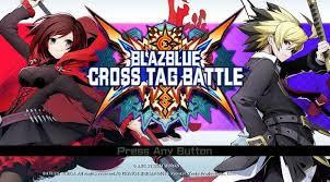 blazblue cross tag battle