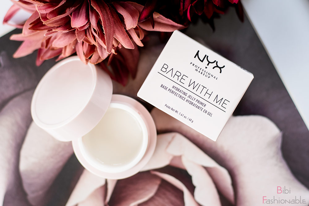 NYX Professional MakeUp Bare with Me Hydrating Jelly Primer Flatlay