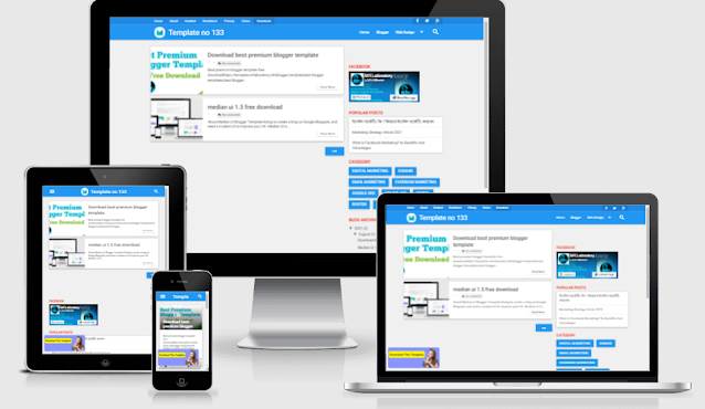 mdfostrap blogger template download