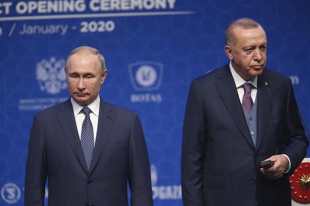 Το Ναγκόρνο Καραμπάχ βάζει σε δοκιμασία τη σχέση Πούτιν - Ερντογάν