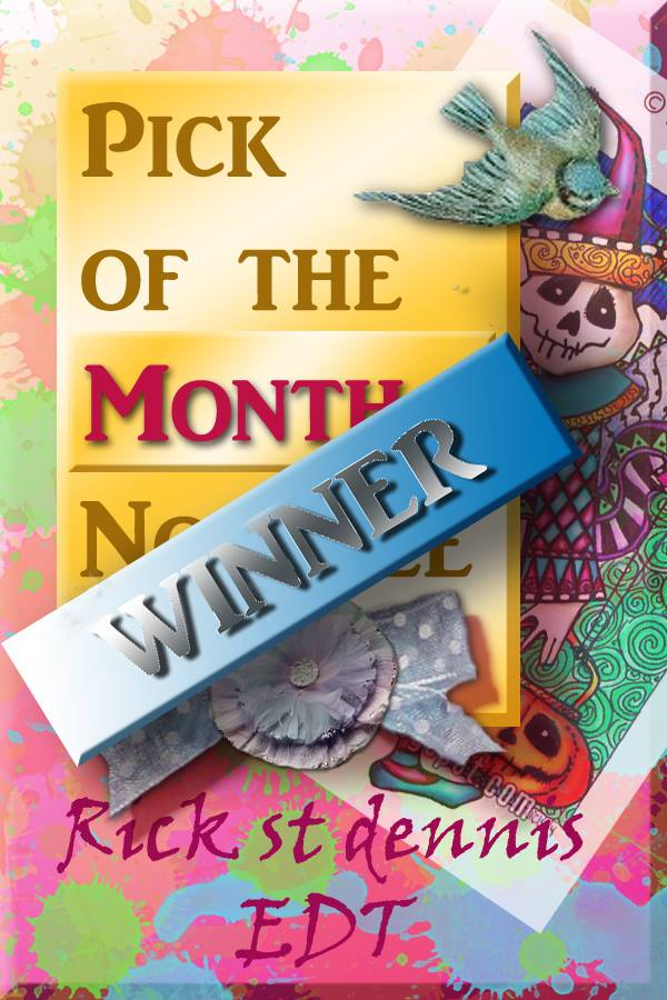 Pick of the Month - Entry for the Year