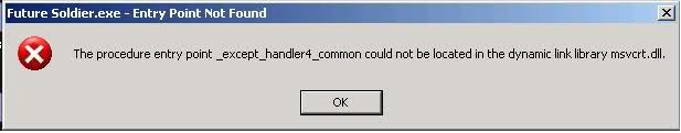 msvcrt.dll windows xp