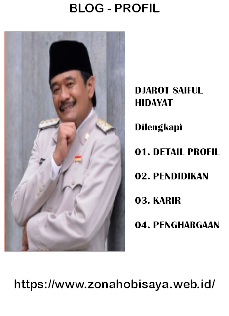 PROFIL : DJAROT SAIFUL HIDAYAT