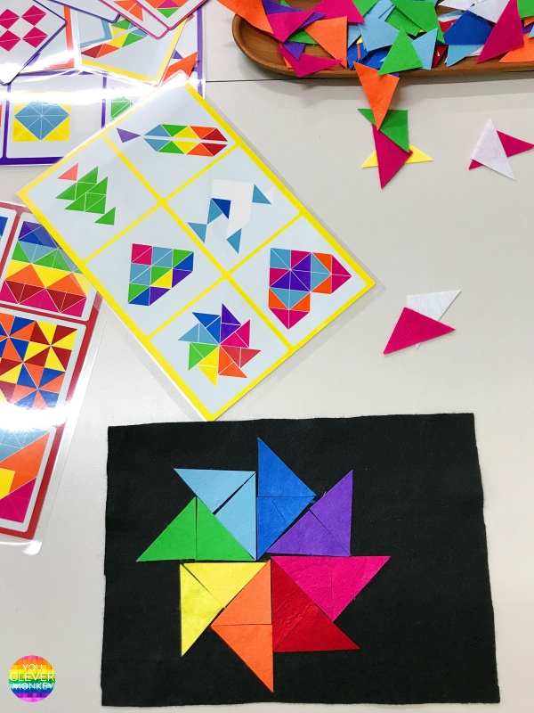 LEARNING ABOUT SHAPES THROUGH PLAY - how to creating simple invitations to play to learn about 2D shapes + 3D objects | you clever monkey