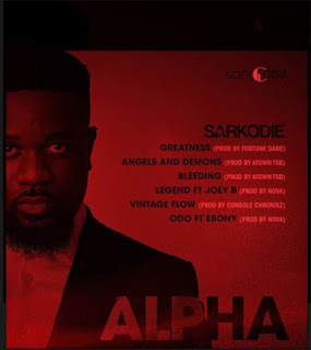 AUDIO | Sarkodie ~ Odo|[official mp3 audio]