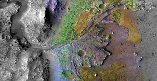 weather on ancient mars warm with occasional rain turning cold