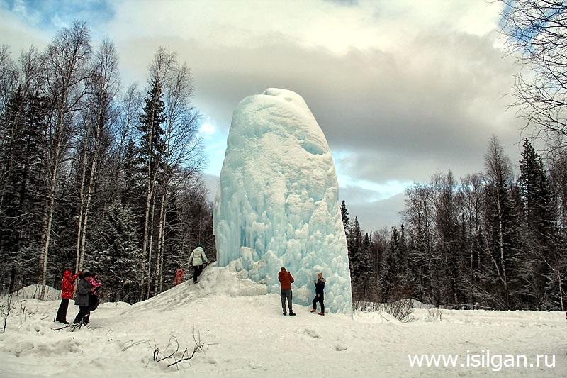 """Ледяной фонтан 2020. Национальный парк """"Зюраткуль"""". Челябинская область"""