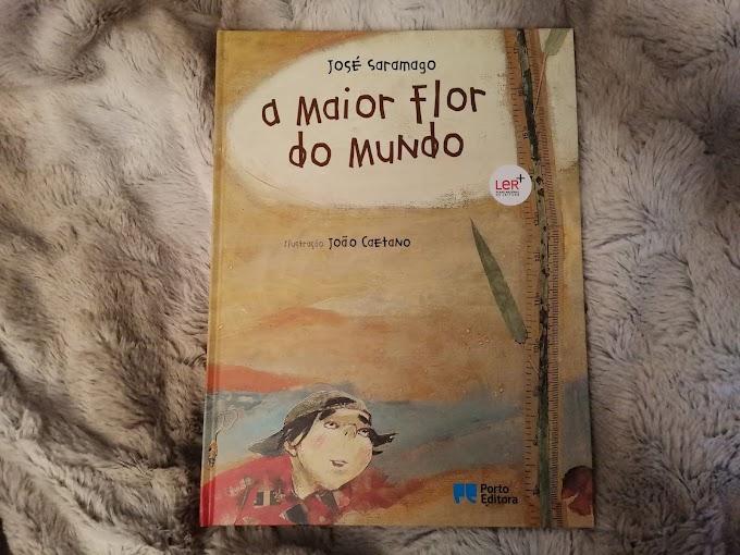 """""""A maior flor do mundo"""" de José Saramago"""