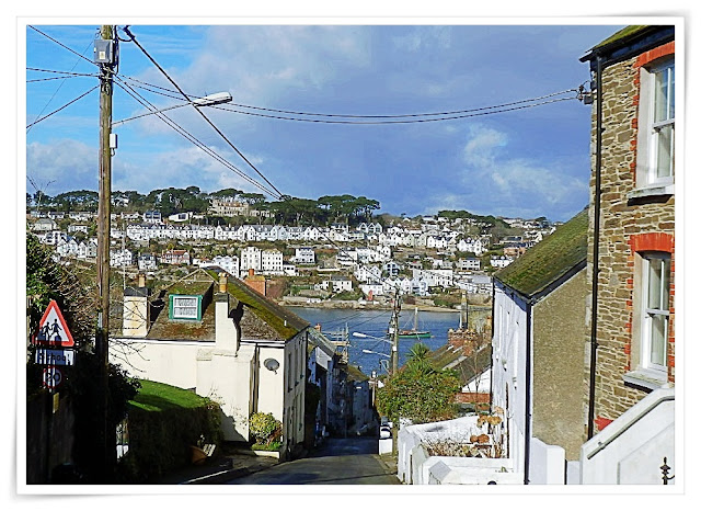Looking across to Fowey from Polruan, Cornwall