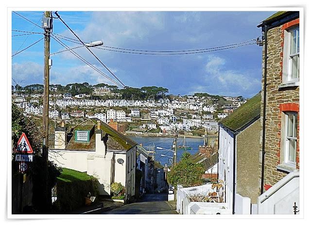 Looking across to Fowey from Polruan, Cornwall