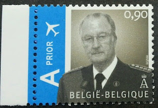 Belgium King Albert II Airmail 2006