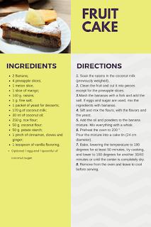 fruit cake vegan glutenfree