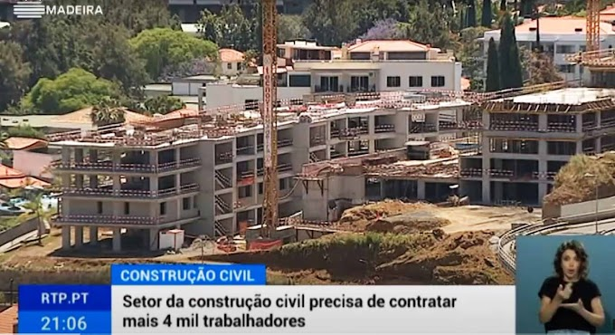 A Madeira usa a sua riqueza para empregar estrangeiros