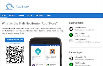 Kali NetHunter App Store | Android Store Gratis Untuk