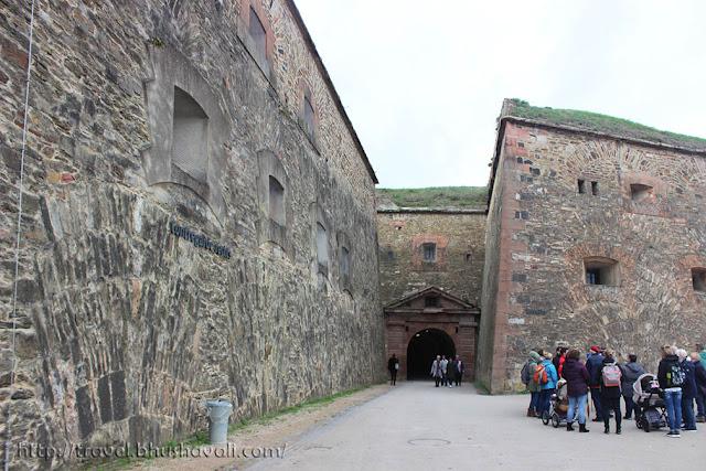 Ehrenbreistein Fortress - Castles on the Rhine